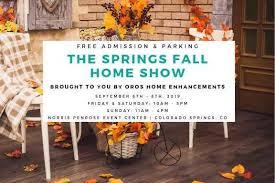 springs fall home show