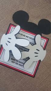 24 X Invitaciones De Mickey Mouse Invitaciones Mickey