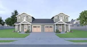 duplex house plans floor home