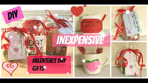diy inexpensive valentines day gifts to