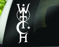 Witch Decal Etsy