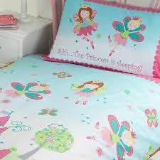 fairy princess sleeping double duvet