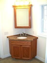 rounded corner bathroom mirror