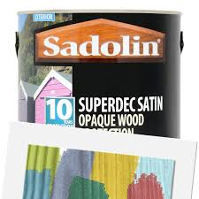 Sadolin Superdec Opaque Wood Protection Satin Tinted 2 5l