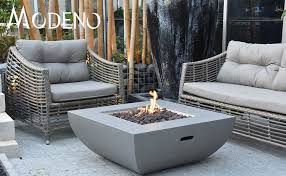 outdoor fire pit propane table