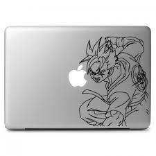 Dragon Ball Son Gohan Apple Macbook Air Pro 11 13 15 17 Vinyl Decal Sticker Dreamy Jumpers