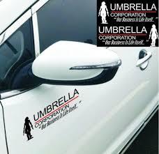 Novelty Resident Evil Alice Umbrella Corporation Car Sticker Vinyl Decal Rear Side Door Reflective Car Stickers Decals Wcs Wish