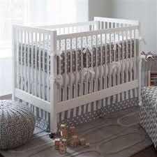 white dots and stripes crib bedding