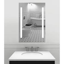 x 36 inch led lighted wall mirror