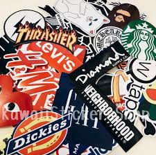 Dope Brands Sticker Pack Laptop Stickers Cool Stickers Wall Etsy