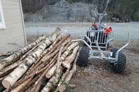 my favorite atv logging equipment and