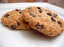 chewy oatmeal raisin cookies brown