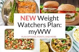 new weight watchers plan
