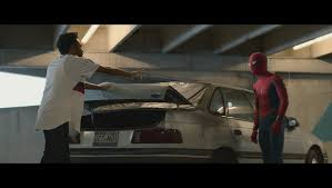 In Spider-Man Homecoming, when Peter interrogates Aaron Davis, the license  plate on Davis' car is a reference to Ultimate Comics Spider-Man #01 which  is Miles Morales' introduction as Spider-Man. : MovieDetails