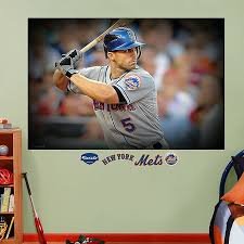 Fathead Mlb New York Mets David Wright Away Mural Wall Graphic Bed Bath Beyond