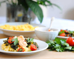 Healthy Shrimp and Grits with Collard ...