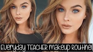 my everyday teacher makeup routine