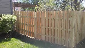 6 Ft Tall Shadowbox Fence In Pine Shadowboxfence Privacyfence Affordablefences Fence Styles Shadow Box Fence Types Of Fences