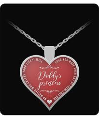 dad daughter jewelry daddy s princess