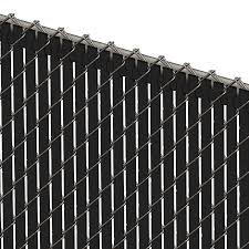 Pds Tl Chain Link Fence Slats Top Lock 4 Foot Black