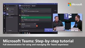 Microsoft Teams: Step-by-step intro for using, enabling and ...