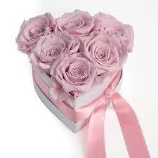 بوكس ورد جوري على شكل قلب ليتل روز Little Rose