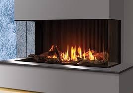 urbana u50 three sided gas fireplace
