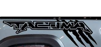 Toyota Tacoma Truck Bed Side Decal Raptor Style Set Tattoosoncars Com