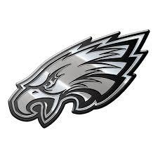 Nfl Philadelphia Eagles Metal Emblem Menf23 Walmart Com Walmart Com