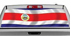 Truck Rear Window Decal Graphic Flags Costa Rica 20x65in Dc86908 Ebay