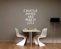 Quotes Creative Minds Are Rarely Tidy Motivational Quote Wall Stickers Vinyl Lettering