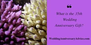 the 35th wedding anniversary the