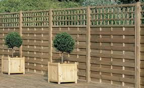 Europa Montreal Screen 1 8m High Forest Garden Decorative Fence Panels Trellis Fence Fence Panels