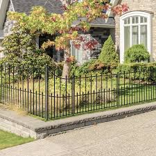 No Dig Grand Empire 4 In X 4 In W X 4 1 2 Ft H Black Steel Universal Fence Post In The Metal Fence Posts Department At Lowes Com
