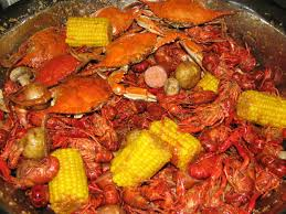 Crawfish and Blue Crab Boil