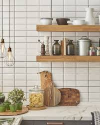 colored grout makes a white subway tile