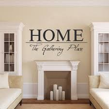 Home Wall Quote Dining Room Wall Quote Family Gathering Wall Decals American Wall Designs