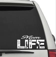 Mom Life Window Decal Mom Life Car Decal Mom Life Window Etsy