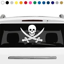 Pirate 16 X54 Rear Window Graphic Pickup Truck Jolly Roger Skull Car Suv Lover For Sale Online Ebay