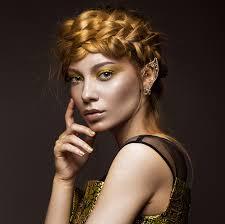 replicate pat mcgrath gold foil makeup