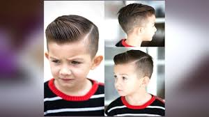 تسريحات شعر اطفال للعيد اولاد