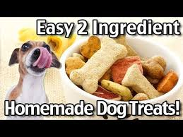 2 ing homemade dog treats