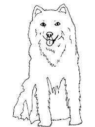 Alaska Husky Kleurplaat Gratis Kleurplaten Printen