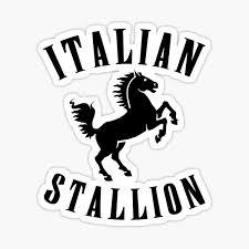 Italian Stallion Stickers Redbubble