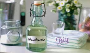 make homemade mouthwash to whiten