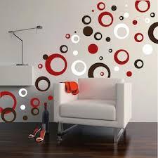 Thick Rings Dots Vinyl Wall Art Trendy Wall Designs