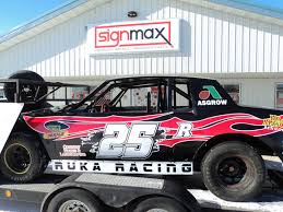 Custom Decals For Race Car Graphics Signmax