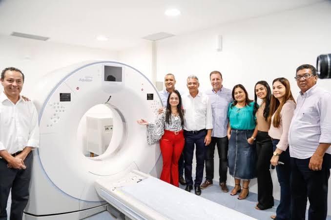 """Resultado de imagem para inauguração da Policlínica Regional de Simões Filho"""""""