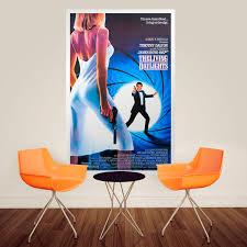 Adhesive Poster James Bond 007 Muraldecal Com