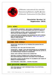 Iffs Newsletter 16 By Julio Lamana Issuu
